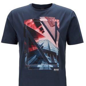 NWT Hugo Boss Crew-Neck Jersey T-Shirt